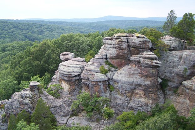 Hiking Trail Information For The Shawnee National Forest Area