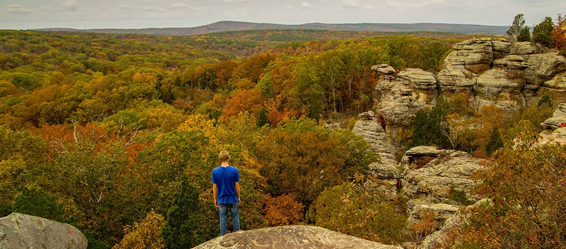 Shawnee National Forest Photos Near Garden Of The Gods In Southern Il